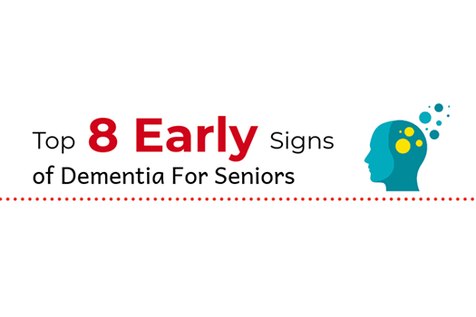 Top 8 Early Signs of Dementia for Seniors [Infographic]